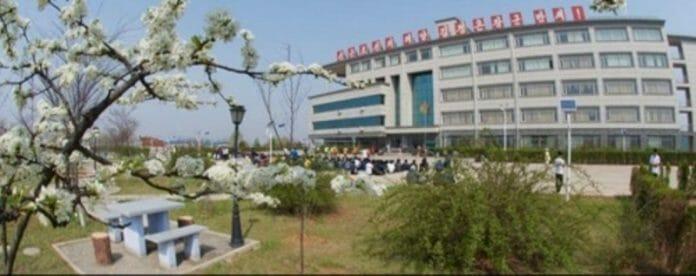 Prédio Principal Pyongyang University Of Science &Amp; Technology (Pust). Imagem: Yonhap News.