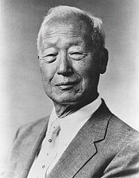 Syngman Rhee. Fonte: Wikipédia