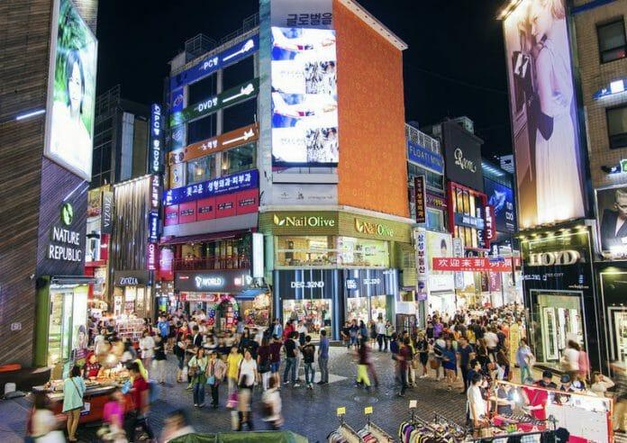 Região Comercial De Myeongdong / Foto: The Korea Bizwire