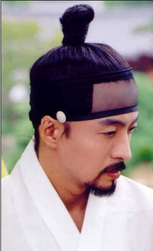 Sangtu, O Estilo De Cabelo Tradicional Para Homens Na Coreia. Foto: Pinterest