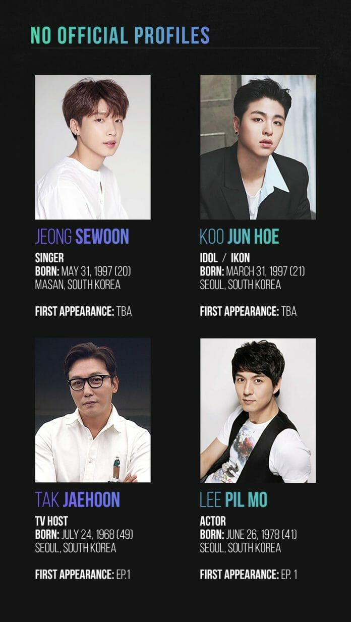 Participantes Do Elenco Convidado Fonte: Onehallyu.com