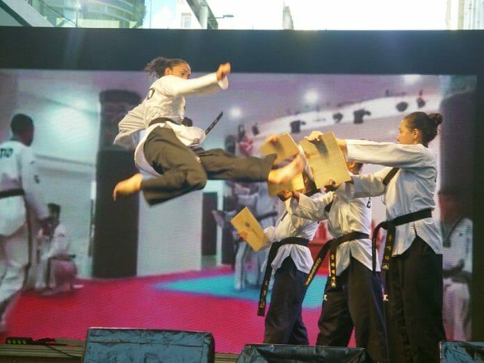 A Equipe Brazil Taekwondo Demonstration Team (B-Tkd) Impressionou O Público!