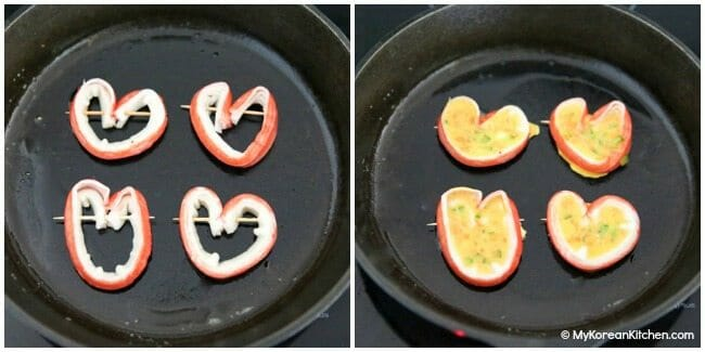 7.-Ingredients-Heart-Shaped-Imitation-Crab-Omelette