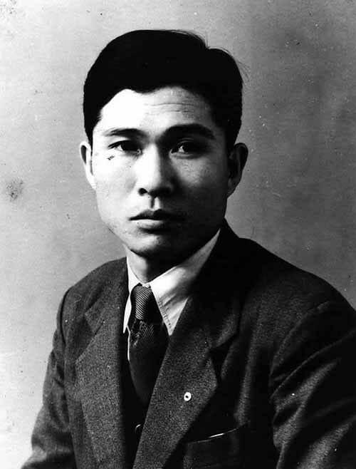 O Jovem Kim Dae Jung. Foto: Jungyoujin