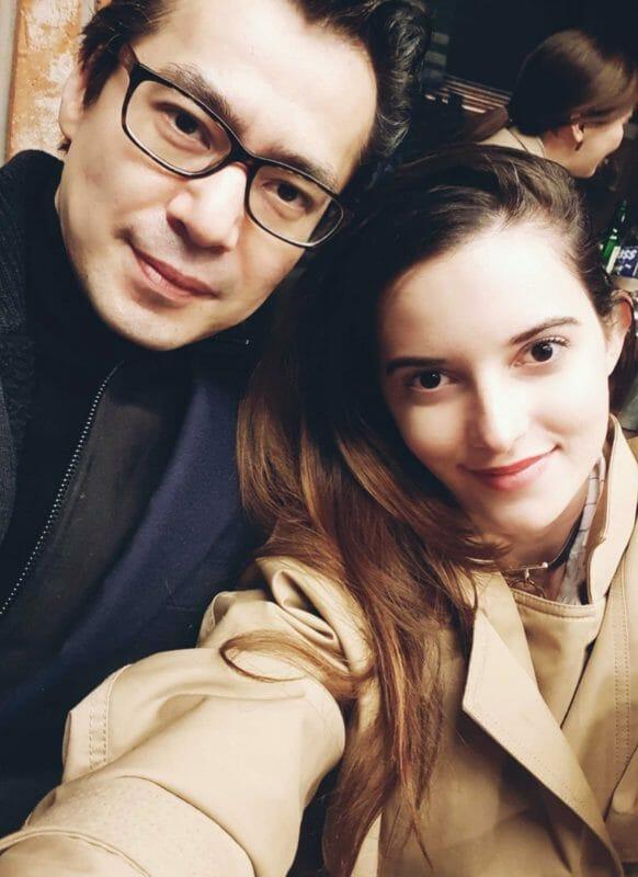 Com O Diretor De Cinema John H Lee. Seoul Março 2018. Foto: Arquivo Pessoal