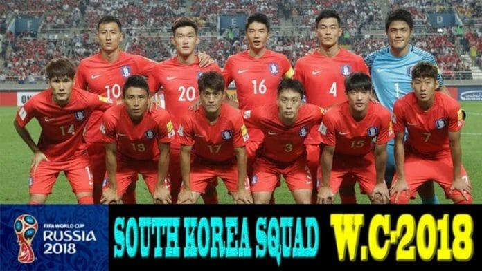 Seleção Coreana. Foto: Youtube