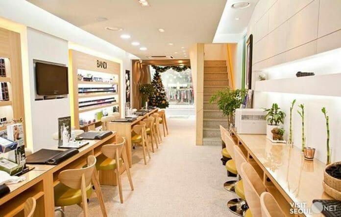 Salão De Unhas Eco-Friendly - Bandi Nail, Gangnam/Seul. (Imagem: Visitseoul.net)