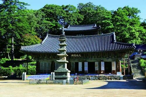 Templo De Magoksa. Foto: Korea Net