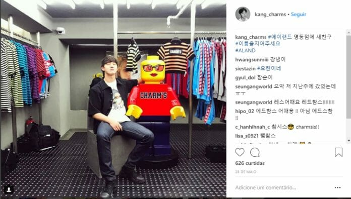 Yo-Han Kang, Criador Da Charm'S (Imagem: Instagram @Kang_Charms)