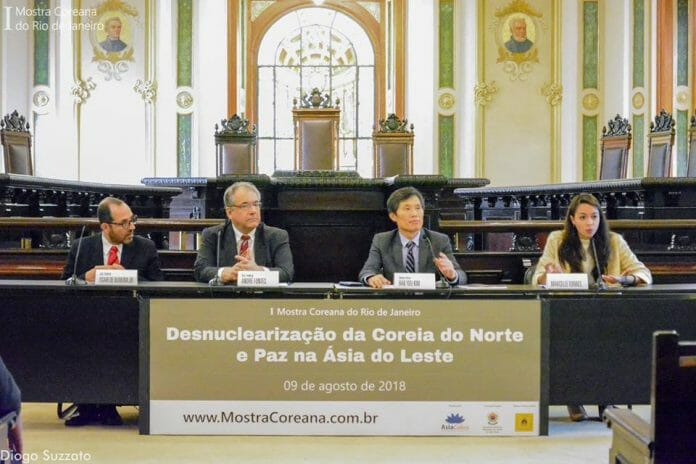 Geun Lee: &Quot;O Brasil E A Comunidade Internacional São Importantes Para A Paz Na Península Coreana&Quot;