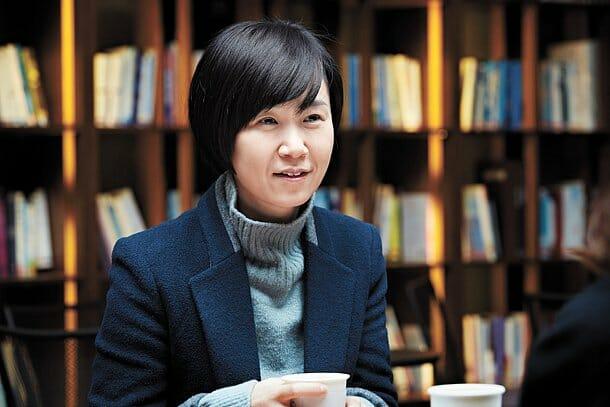 A Autora Cho Nam Joo. Foto: Hufpost