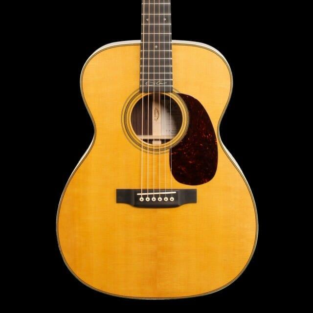 O Violão Martin 000-28Ec Assinado Por Eric Clapton. Foto: Alto Music