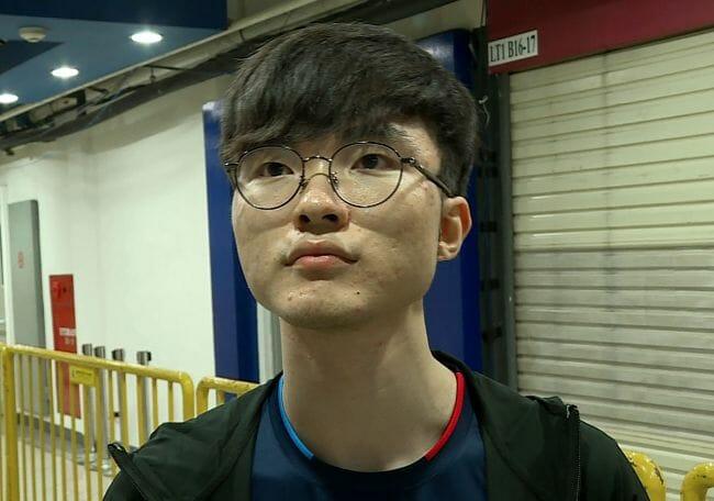 Faker, Nome Real Lee Sang-Hyeok [Fonte: Http://Res.heraldm.com/Content/Image/2018/08/30/20180830001083_0.Jpg]