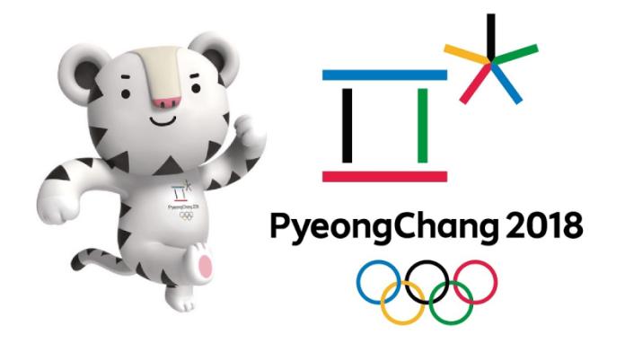 Mascote E Logo Das Olimpíadas De Inverno De Pyeongchang, 2018. Foto: Pocog