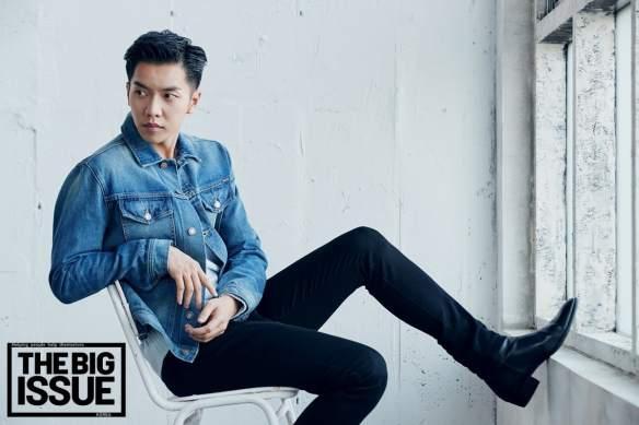 Lee Seung-Gi Também Ataca De Modelo. Foto: Kpopper States