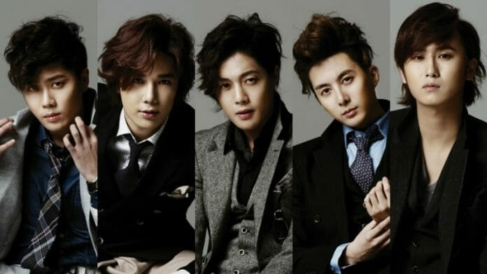 Foto Dos Integrantes Do Ss501