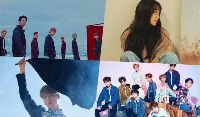 comebacks e lançamentos de outubro