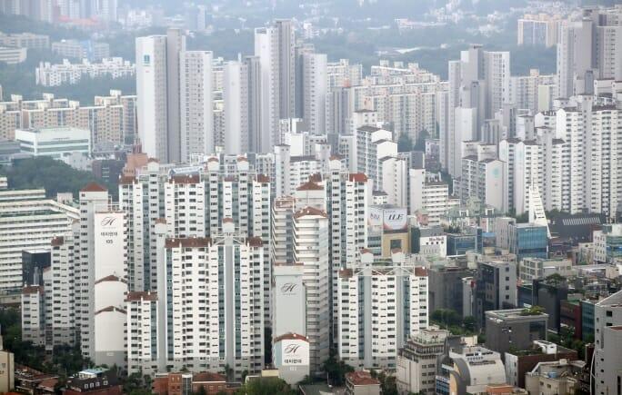Apartamentos Em Gangnam. Foto: Yonhap