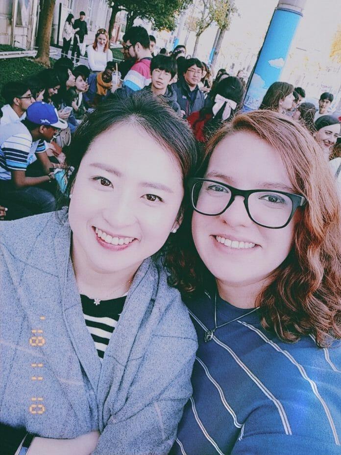 Eu E Minha Professora: Shin Min Ah.