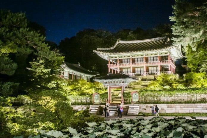 Visitas Noturnas Ao Palácio Changdeokgung Começam Em Abril