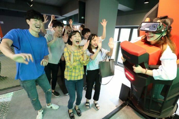 Parques Temáticos De Realidade Virtual Surgem Como Tendência De Entretenimento Na Coreia