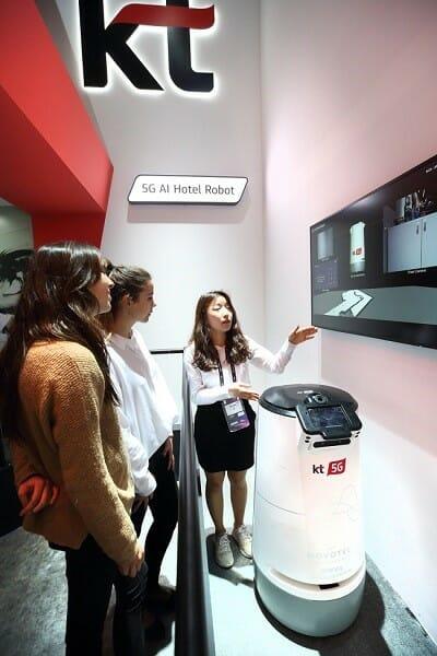 Empresa Coreana Apresenta Uma Vida Futurista Com Tecnologia 5G