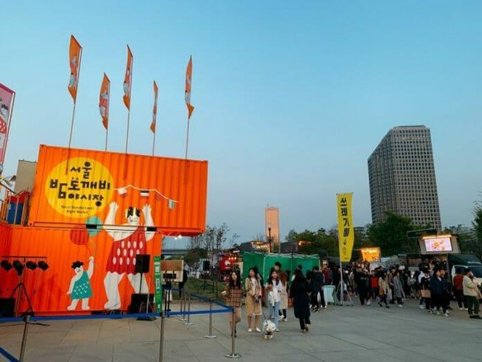 Mercado Noturno Ganha Visual Glamourizado Em Yeouido