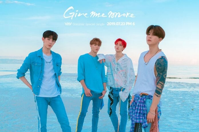 """Give Me More"" Do Vav É O Novo Mix-Cultural Entre K-Pop E Música Latina"