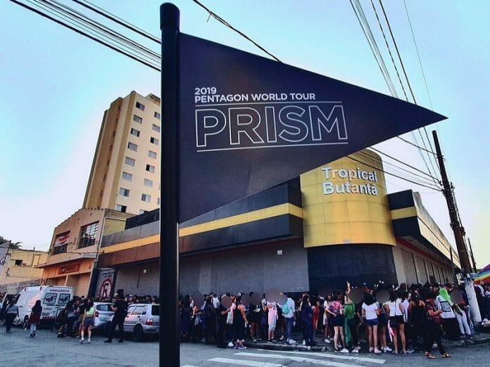 Pentagon - Prism World Tour Em São Paulo