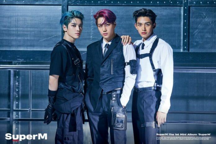 Novo Boy Group Da Sm, Superm Surpreende Nas Fotos Em Grupo Para Debut