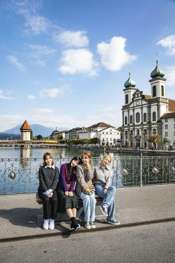 A Viagem De 7 Dias Do Red Velvet À Suíça