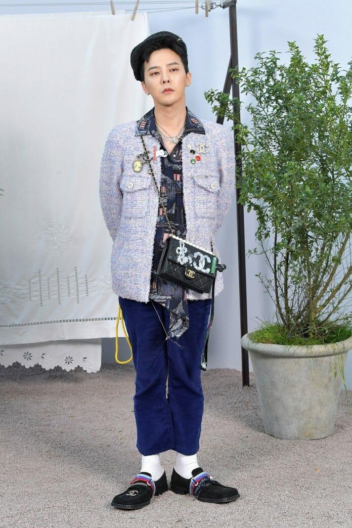 G-Dragon Faz Retorno Triunfal À Semana De Moda De Paris