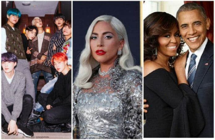 Bts Se Une A Obama E Lady Gaga Em Formatura Virtual Pelo Youtube