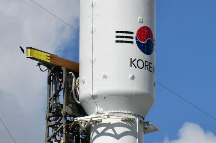 Coreia Do Sul Lança Seu Primeiro Satélite Militar
