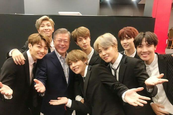 Presidente Moon Jae-In Diz Ser Um Grande Fã Do Bts