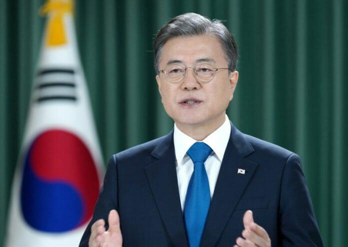 Presidente Moon Jae-In Pede Ajuda Da Onu Para Acabar Com A Guerra Entre As Coreias