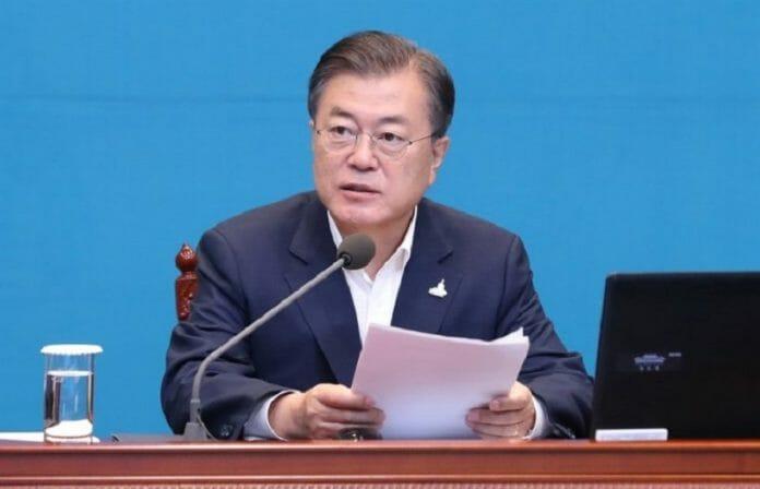Moon Diz Que A Coreia Do Sul Terá Um Papel Importante Na Luta Global Contra Doenças Infecciosas