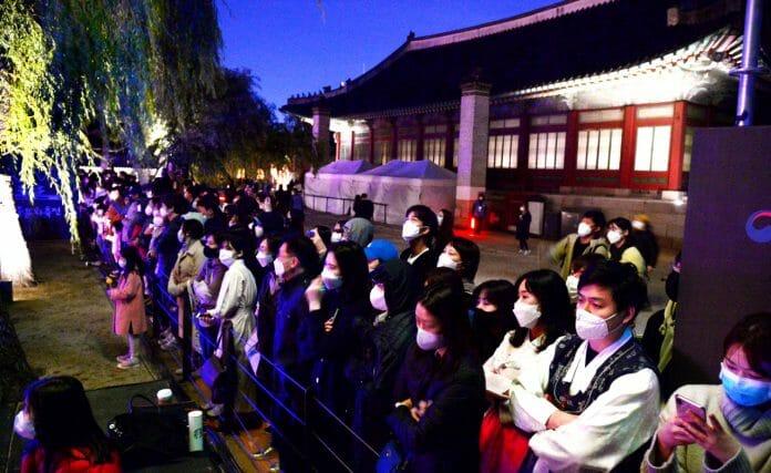 Esplendor Noturno Dos Palácios De Seul