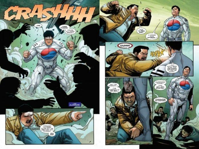 Marvel Apresenta Taegukgi, Novo Super-Herói Coreano