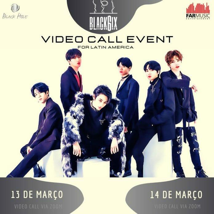 Black6Ix Realizará Eventos De Vídeo Chamada Para Fãs Da América Latina