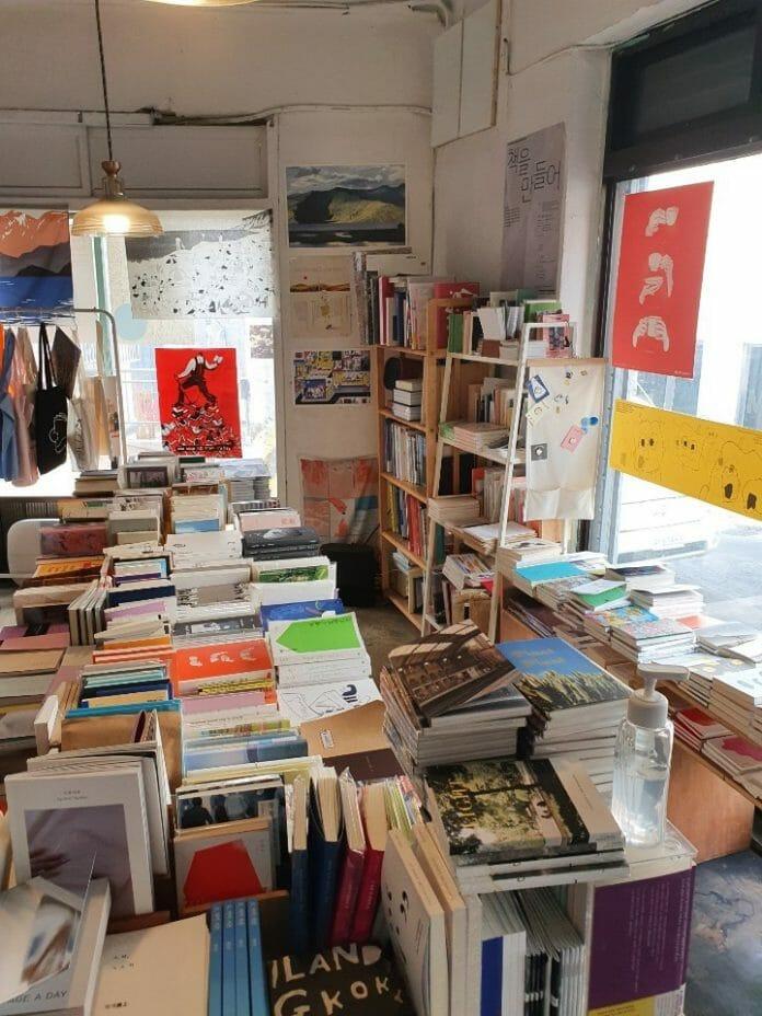 Conheça Alguma Livrarias Únicas De Seul
