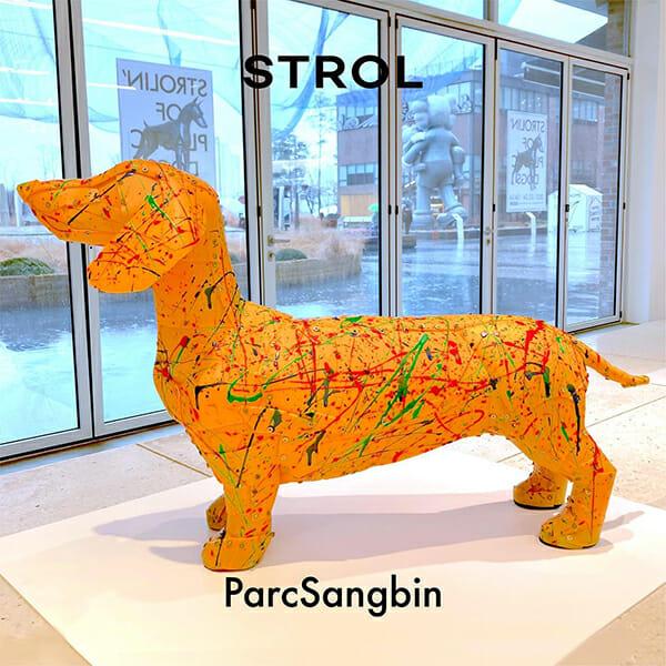 Artista De Upcycling Transforma Resíduos Plásticos Em Cães Adoráveis
