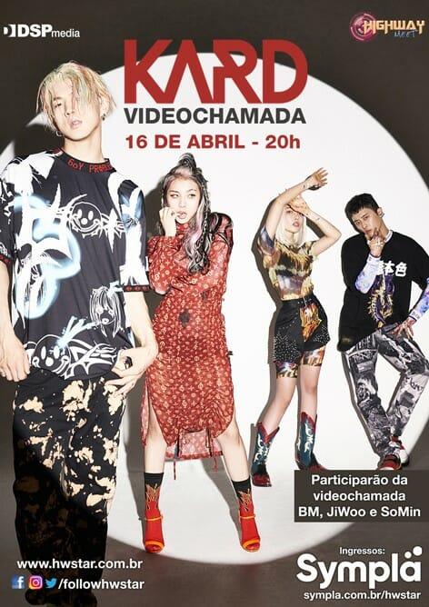 Kard Fará Meet &Amp; Greet Virtual Exclusivo Para Fãs Brasileiros