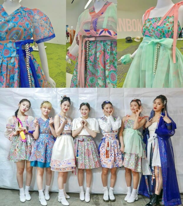 Exposição Em Seul Destaca 'Hanbok' No Cenário K-Pop