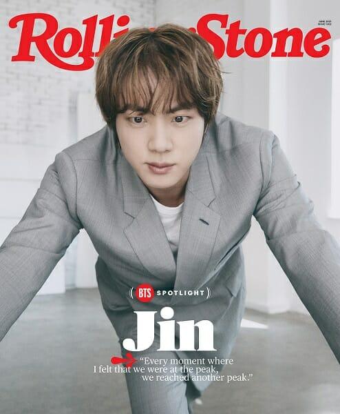 Entrevista Do Jin Do Bts Para A Rolling Stones