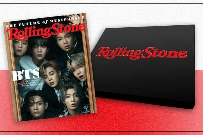 Suga Abre O Coração Para A Rolling Stones