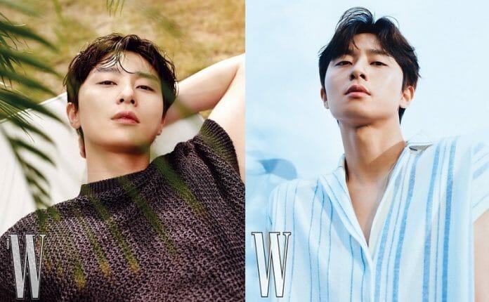 Park Seo Joon Na Capa Da Revista W Korea