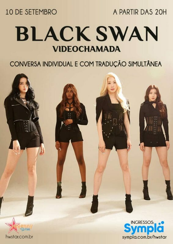 Black Swan Encontrará Fãs Brasileiros Em Evento Virtual Em Setembro