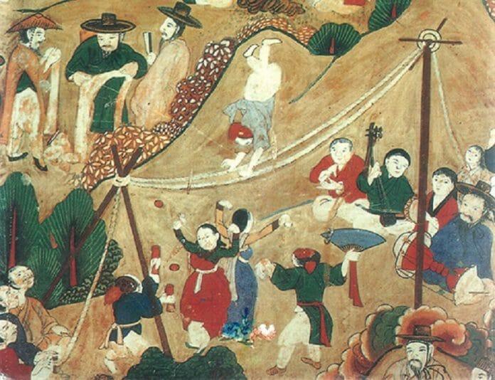 Gwangdae - A Classe Artística Sul Coreana