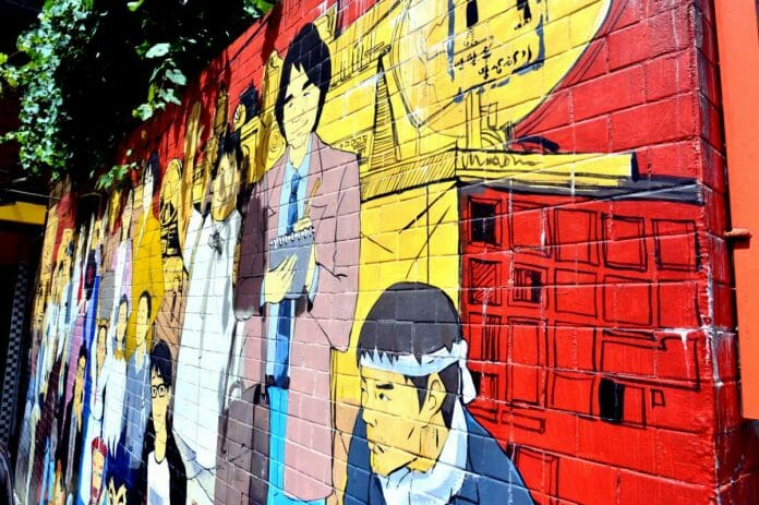 Cartoon Street Homenageia Quadrinhos Nostálgicos Que Inspiraram K-Dramas
